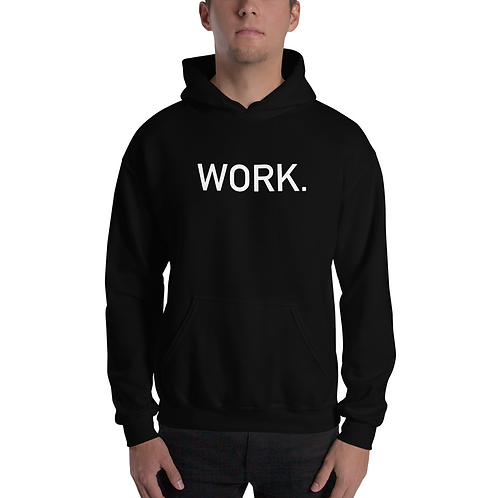 WORK. Lightweight Blend Hooded Sweatshirt