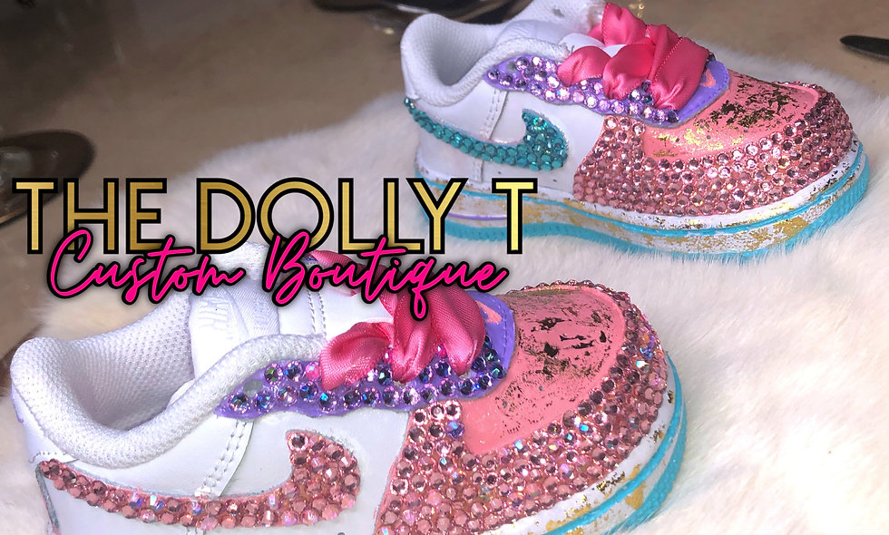Infants & Toddlers Custom Air Force 1