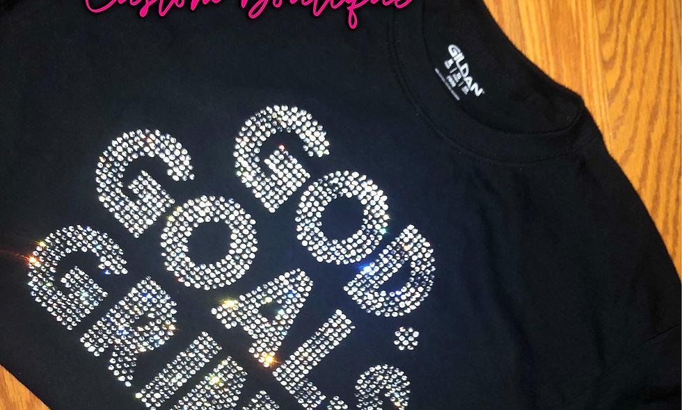 Triple G's Rhinestone T-Shirt