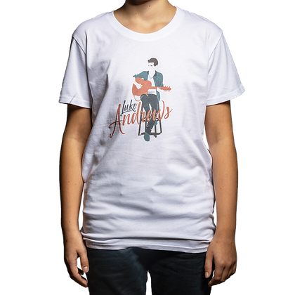 Luke Andrews Guitar Kid's T-Shirt