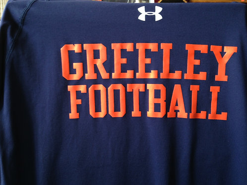EZWear Greeley Football Under Amour tee shirt
