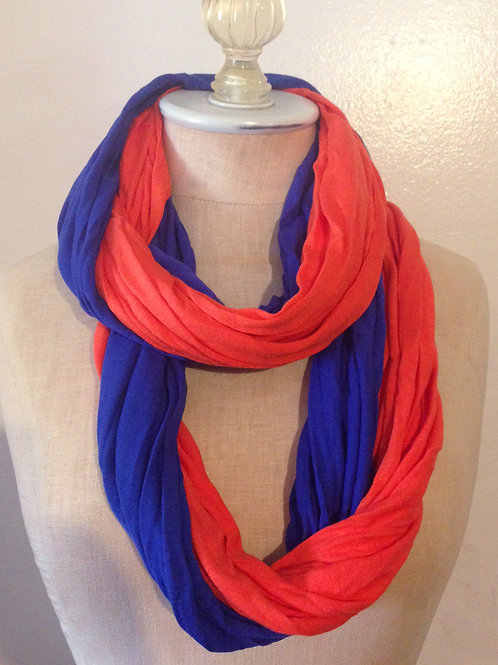 Greeley Football infinity scarf