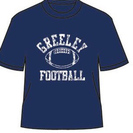 Greeley Football Next Level short sleeve tee shirt