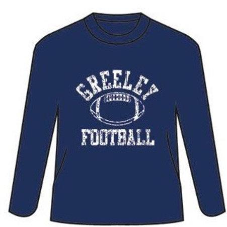 Greeley Football Next Level long sleeve tee shirt