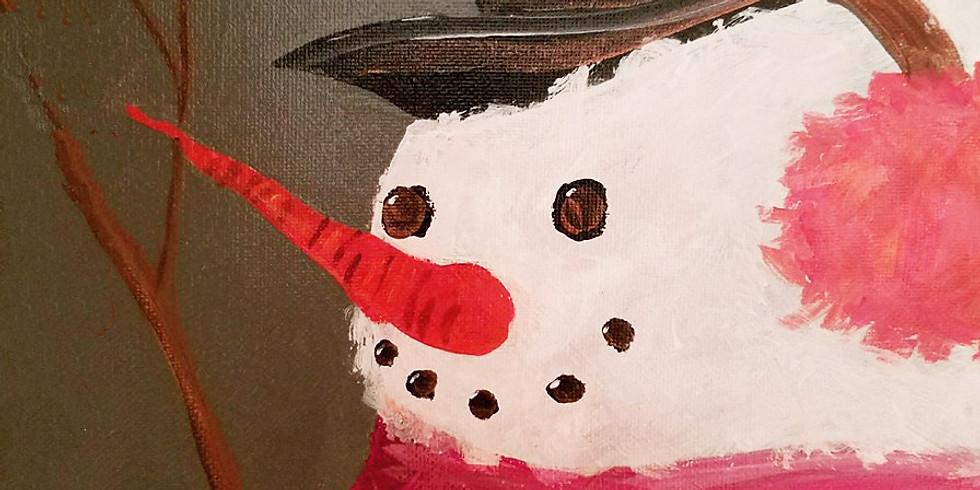 Emma B YMCA - Northtown - Simple Snowman Face $25