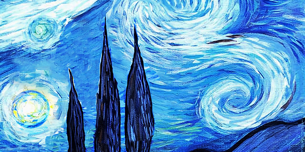 """Shoreview YMCA - artwork """"STARRY NIGHT SAMPLE"""" only $25"""