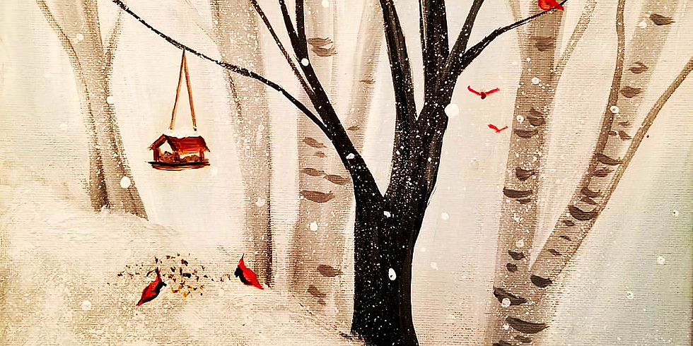 """EMMA B YMCA """"Winter Forest""""  Only $25"""