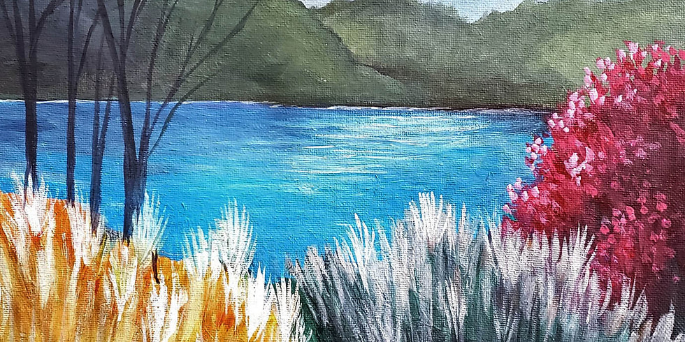 """WHITE BEAR LAKE YMCA - """"Quiet Pond""""-  APRIL 21 - Outdoor Painting"""