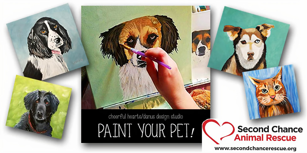 sold out!  PAINT YOUR PET II  - BENEFIT EVENT !!  ONLY $35