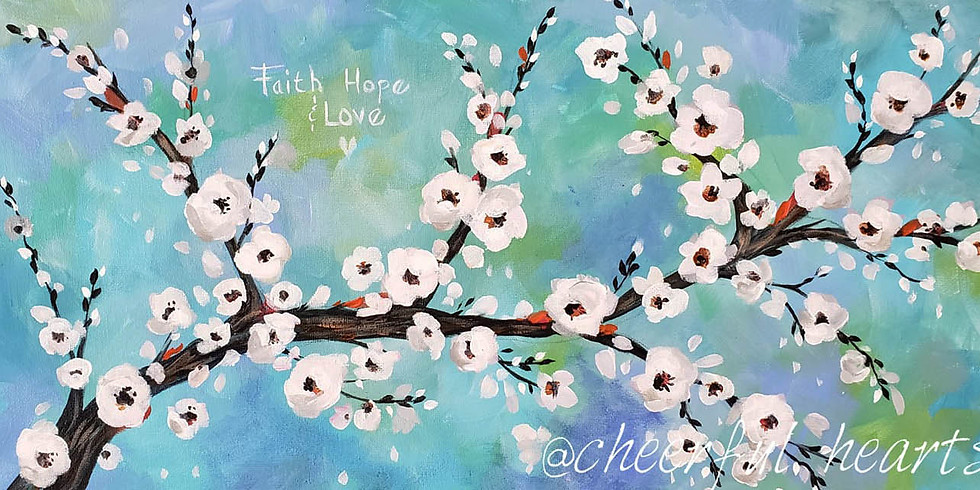 """CARIBOU COFFEE mplwd - """"CHERRY BLOSSOMS""""  Only $30"""