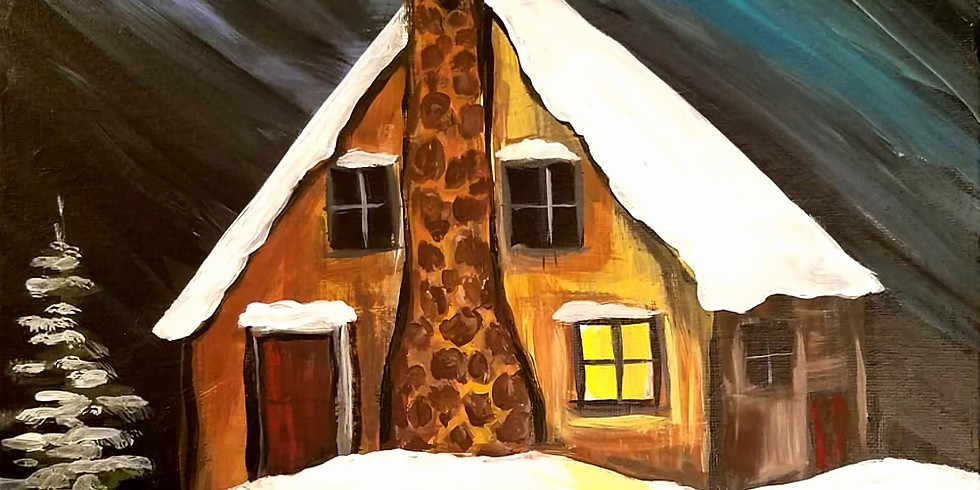 """St. Andrew's Church - PEACE """"Winter Cabin"""" only $25"""