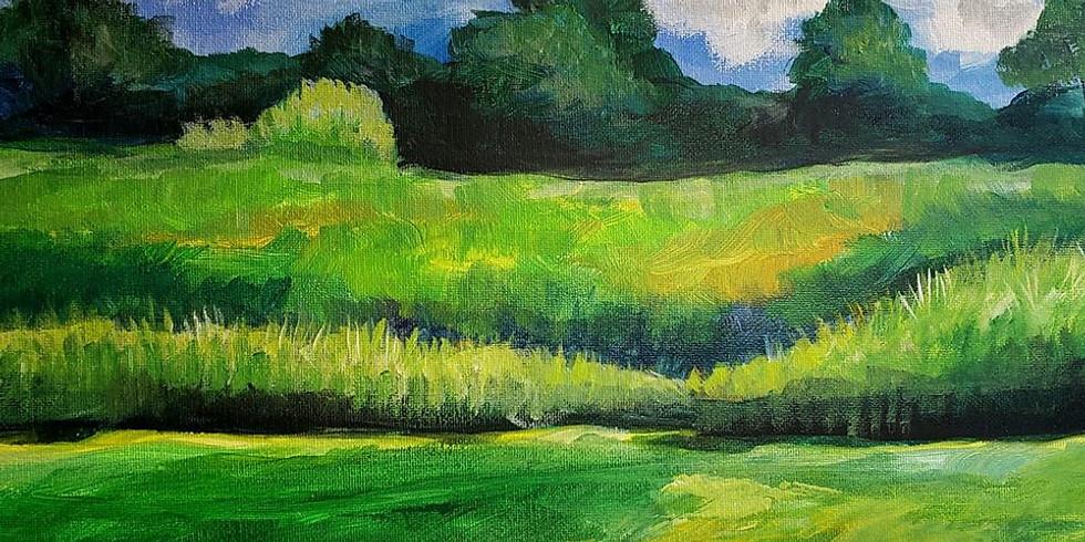 White Bear Lake YMCA - Plein Air Painting