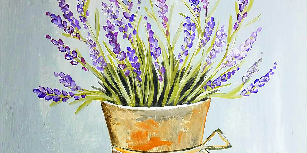 """St. Andrew's - Mahtomedi """"Potted Lavender"""" only $25 (1)"""