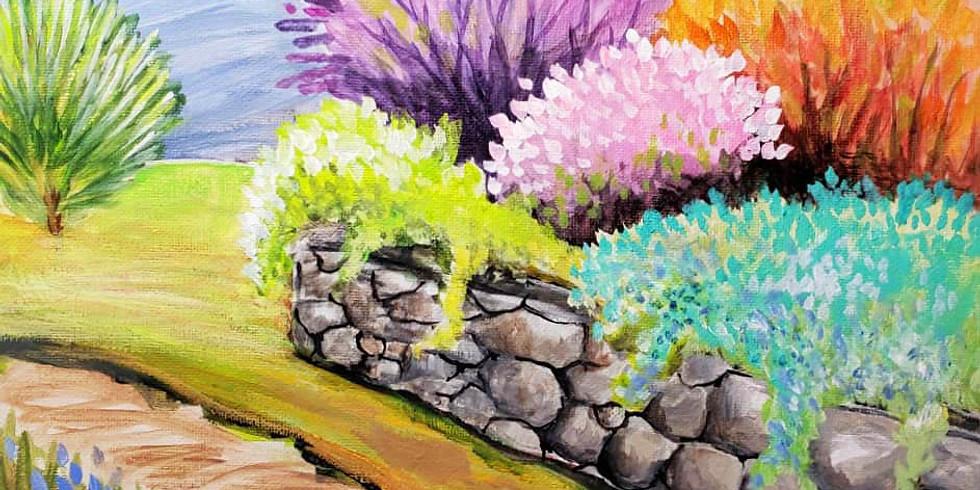 "White Bear Lake YMCA -  ""Garden Wall"" Canvas - only $25!"