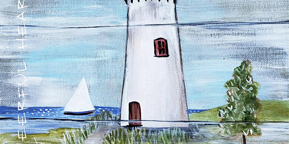 """Emma B. YMCA  """"WELCOME LIGHTHOUSE""""  Only $25"""