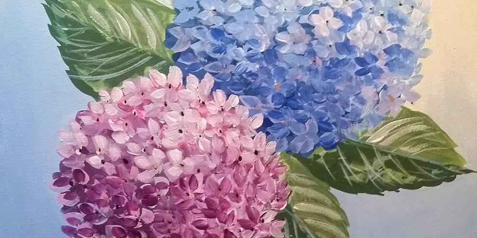 "Emma B YMCA - ""Hydrangea Flowers"""