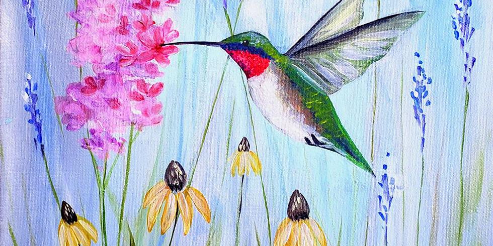 """Mounds View Community Center - """"Hummingbird Garden"""" $25"""