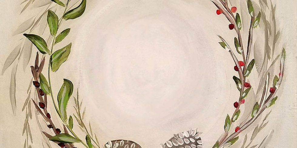 "Keys Cafe - ""Harvest Wreath"" - OPEN EVENT- $25  (1)"
