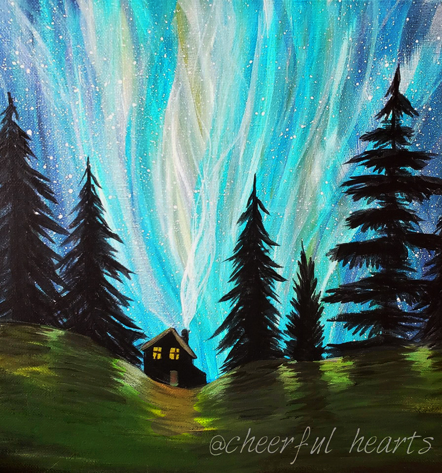 1 Northern lights with cabin.jpg