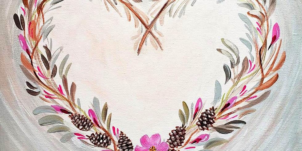 "SHOREVIEW YMCA - ""Heart Wreath"" - 1-3pm"
