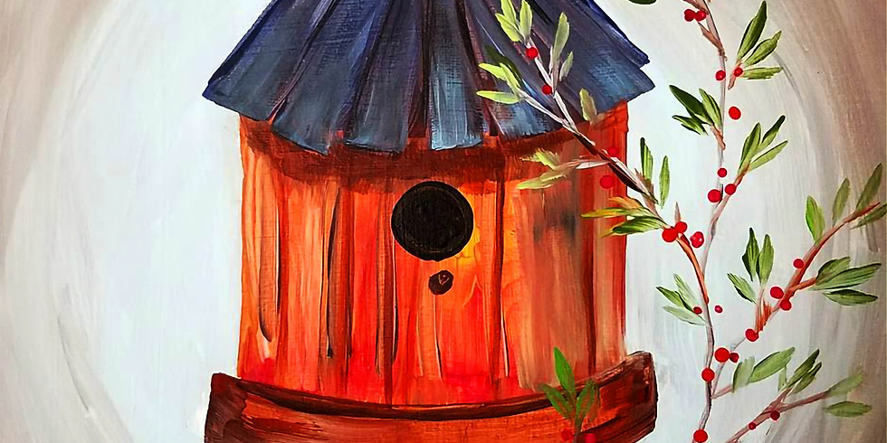 """Emma B YMCA - Coon Rapids - """"Round Birdhouse"""" Tote OR Canvas"""