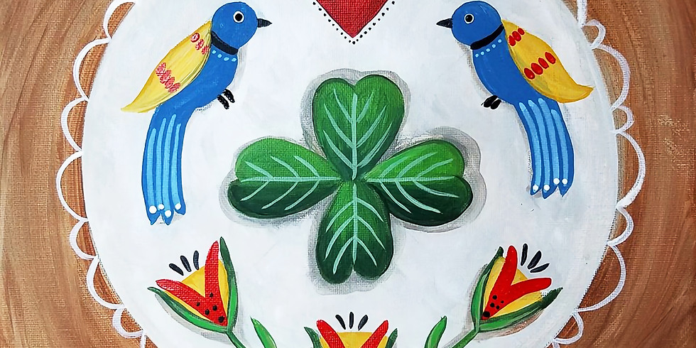 "SHOREVIEW YMCA ""Irish Folk Art"" Only $25!"