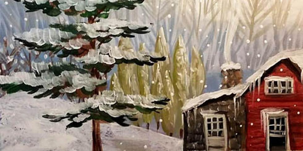 """Keys Cafe - """"Winter Cottage"""" - OPEN EVENT- $25"""