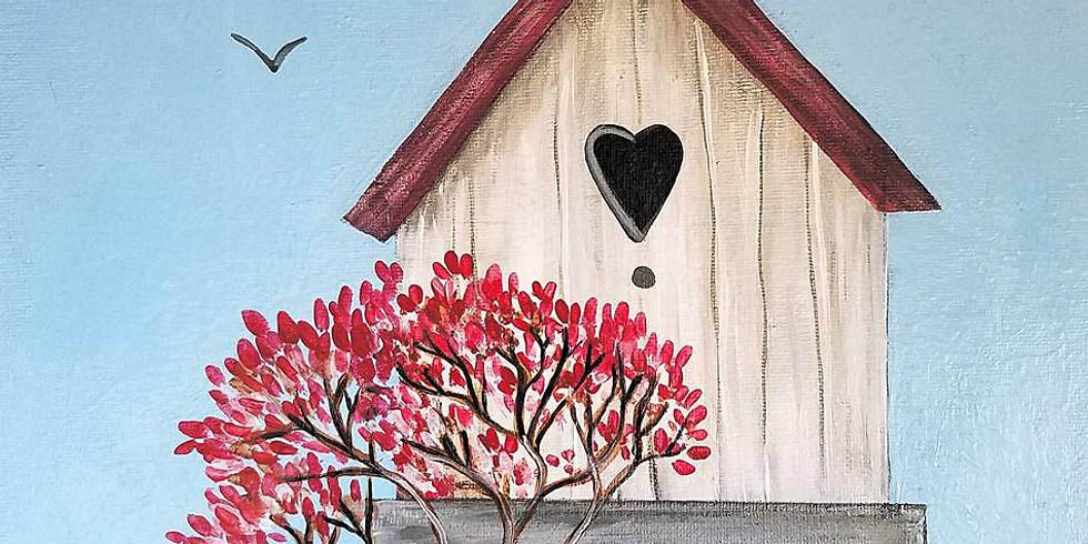 "Mounds View Community Center - ""Spring Birdhouse"" $25"