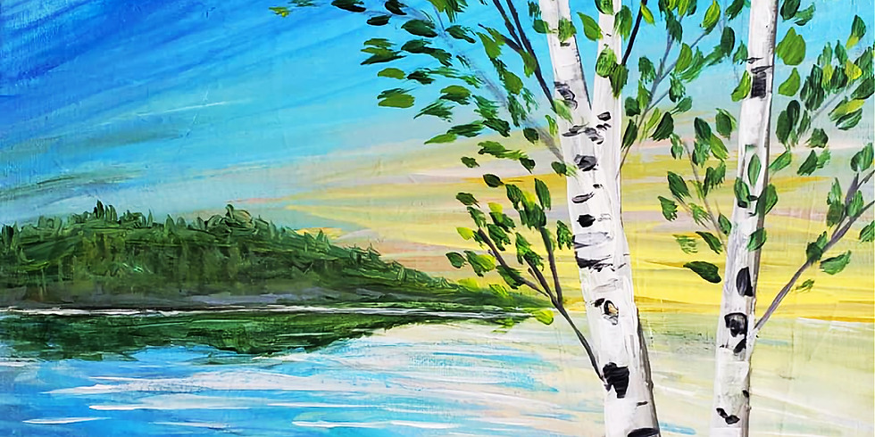 """Forest Lake YMCA - Plein Air Painting - """"At the Lake"""""""