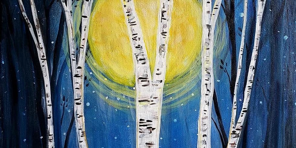 "MAPLEWOOD YMCA - ""Thistle Flowers"" - Jan 23rd, 1-3pm"