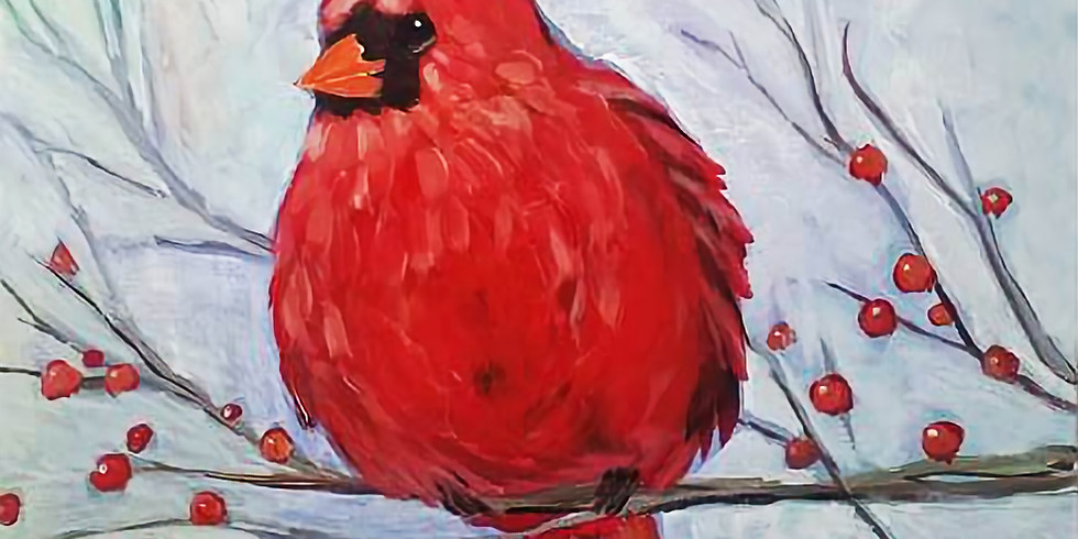 """Mounds View Community Center/YMCA - """"Handsome Cardinal"""" Only $25"""