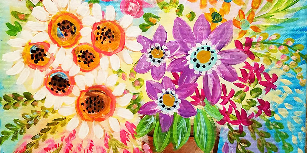 """Shoreview YMCA """"Wild Flower Explosion"""" only $25"""