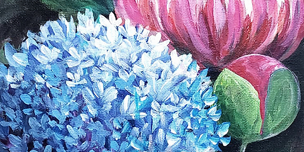 """Mounds View Community Center - MARCH 18TH - """"Hydrangea & Peony"""""""