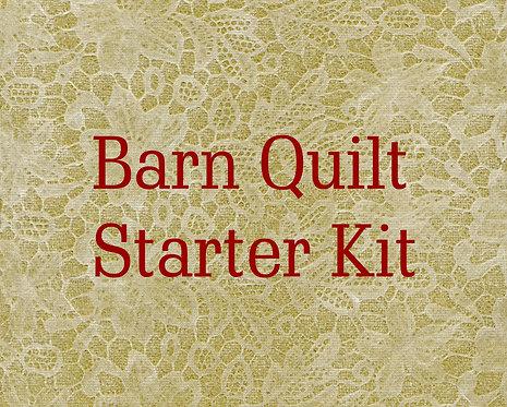 1'x1' Barn Quilt Starter Kit