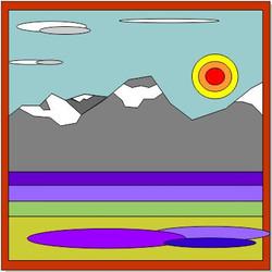 Sun on the Rockies   2