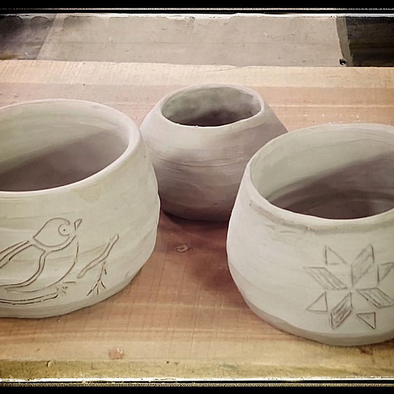 Pottery Wheel Bowl Making Class