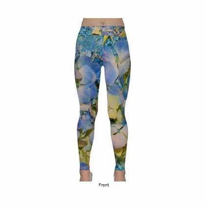 Hydrangea Classic Yoga Leggings