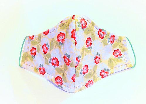 Flora Pattern Cloth Face Mask (Olson Design)