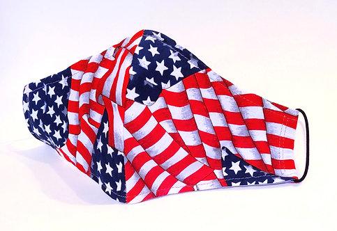 Patriotic Pattern Cloth Face Mask (Olson Design)