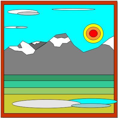 Sun on the Rockies   1