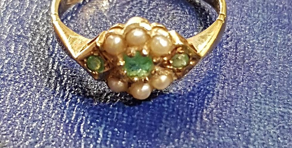 Georgian Emerald Ring