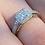 Thumbnail: Diamond ring. J T'Aime designer 18 ct
