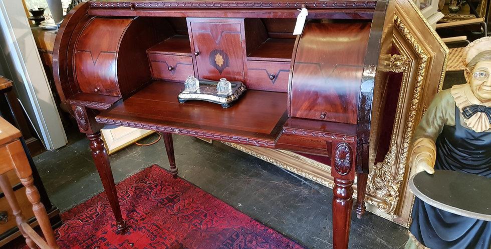 French Deco Cylinder Desk