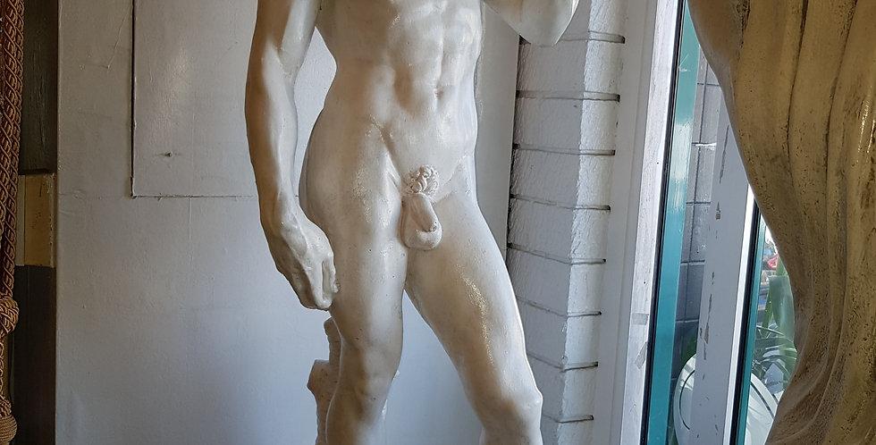 "Antique sandstone & Concrete Garden Statue ""David"""