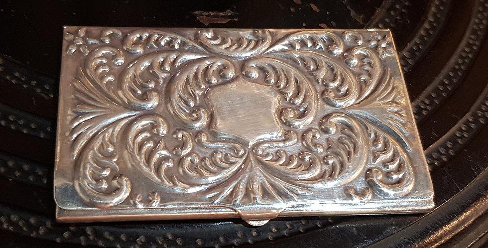 Stirling Silver Card Holder