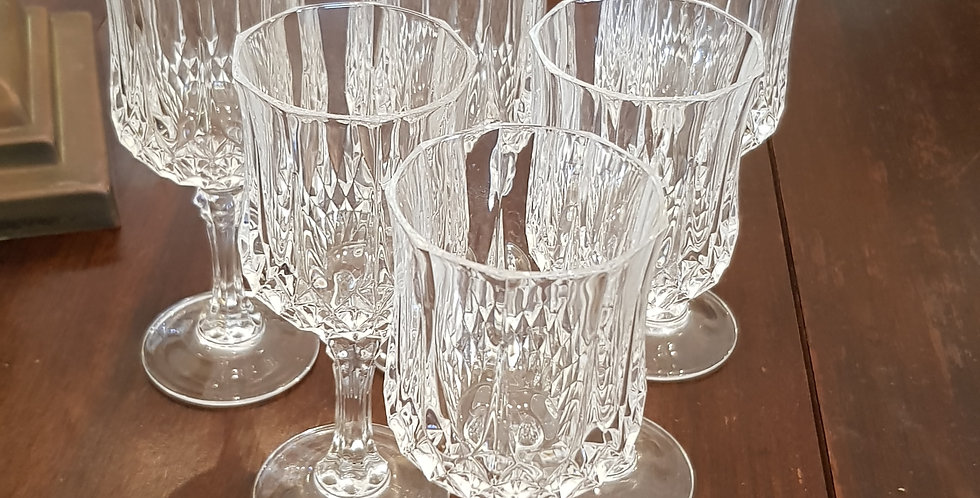 Set 6 Crystal Glasses