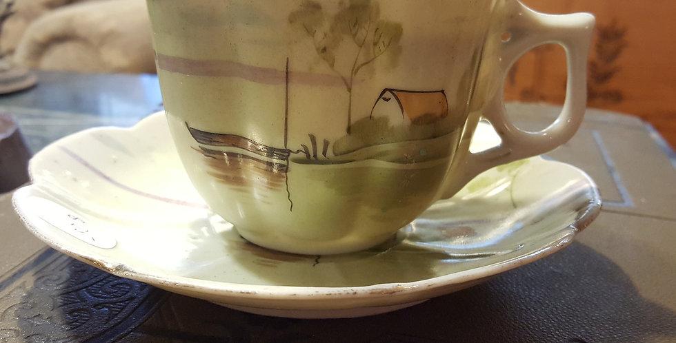 Victorian Gentlemen's Tea Cup