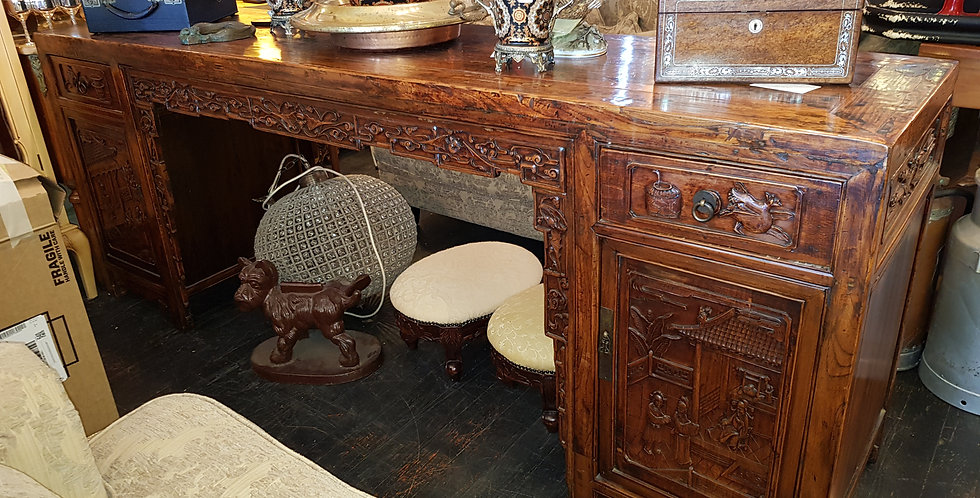 Vintage Chinese Desk Console