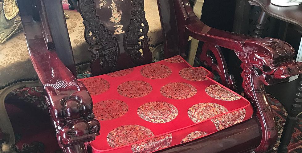 Chinese dragon arm chair