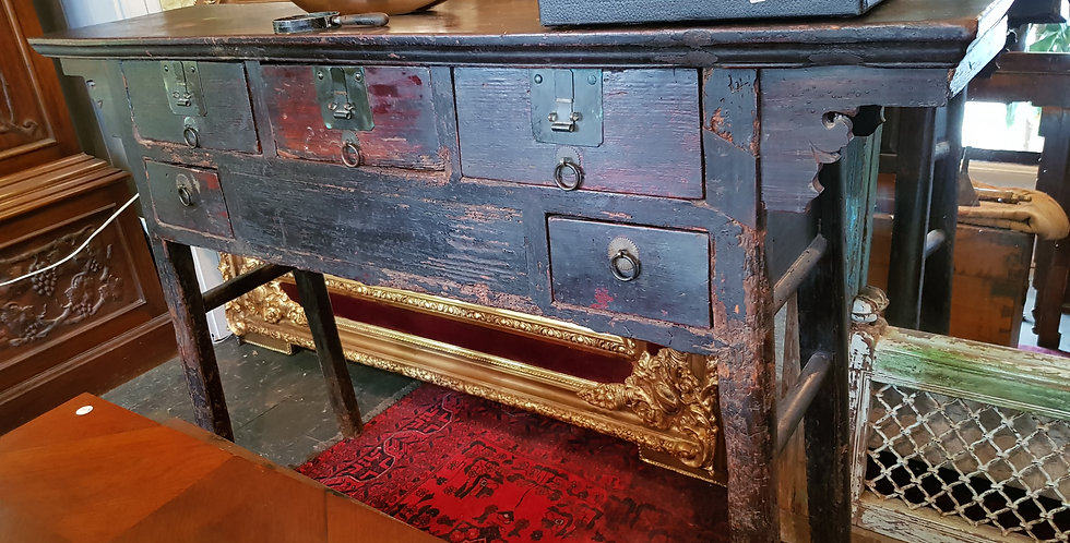 Ancient Chinese Alter Table